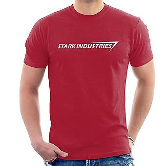 Stark Industries jern mann menn t-skjorte