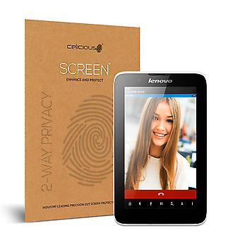 Celicious Privacy 2-Way Visual Black Out Screen Protector for Lenovo A7-30 A3300
