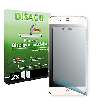 ZTE Nubia my Prague classic screen protector - Disagu tank protector protector (deliberately smaller than the display, as this is arched)