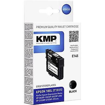 KMP Ink replaced Epson T1811, 18XL Compatible Black E145 1622,4001