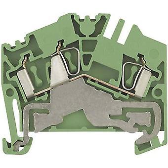 Weidmüller 1770380000 ZPE 4-2/2AN 0,5 - 6 mm² grön-gul