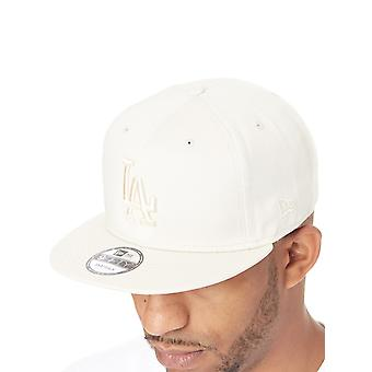 New Era Off White League Essential 9Fifty Los Angeles Dodgers Snapback Cap