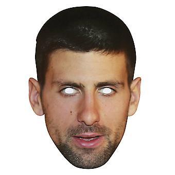 Novak Djokovic Single 2D Card Party Face Mask