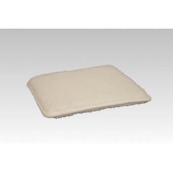Chair cushions seat cushion square nature 2-Pack 37 x 40 cm
