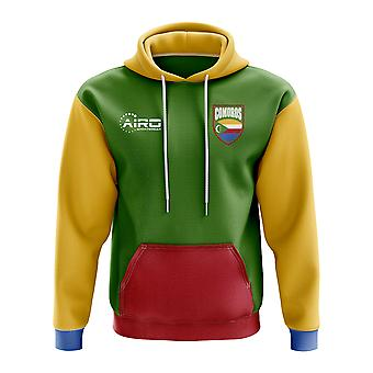 Comoros Concept Country Football Hoody (Green)