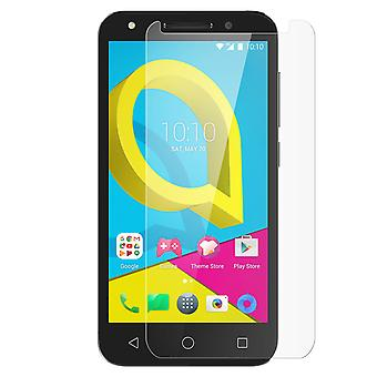 Tempered glass screen protector for Alcatel U5, 9H hardness, anti-explosion