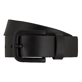 Cinturones de Timberland cinturones hombre cuero correa de jeans negro 7433