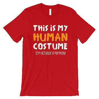 This Is My Human Costume Mens Red T-Shirt
