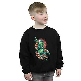 DC Comics Boys Aquaman Xebel Crest Sweatshirt