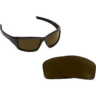 Valve Asian Fit Replacement Lenses Polarized Bronze Brown by SEEK fits OAKLEY