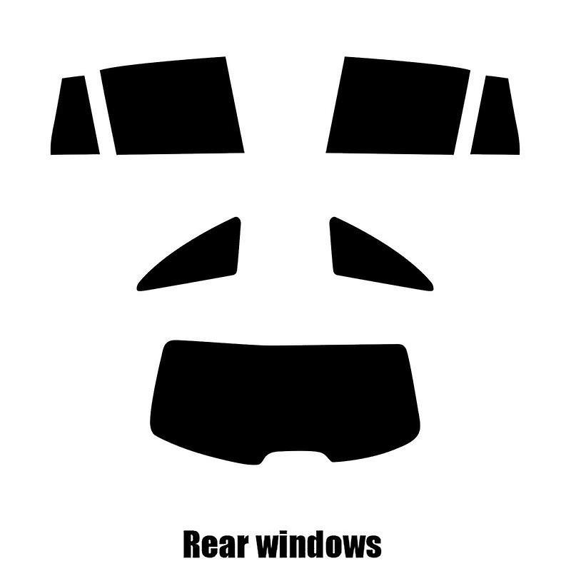 Pré coupé vitres teintées - Renault Laguna Estate - 2001 à 2005 - glaces arrière