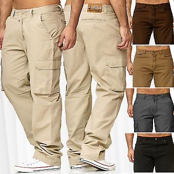 Mens Thermal Pants Lined Cargo Trousers Working Chino Outdoor Fleece M - XXXXXL