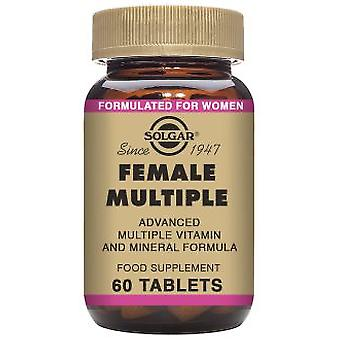 Solgar Female Multiple 60 Tablets (Hygiene and health , Sexual health , Suplements)