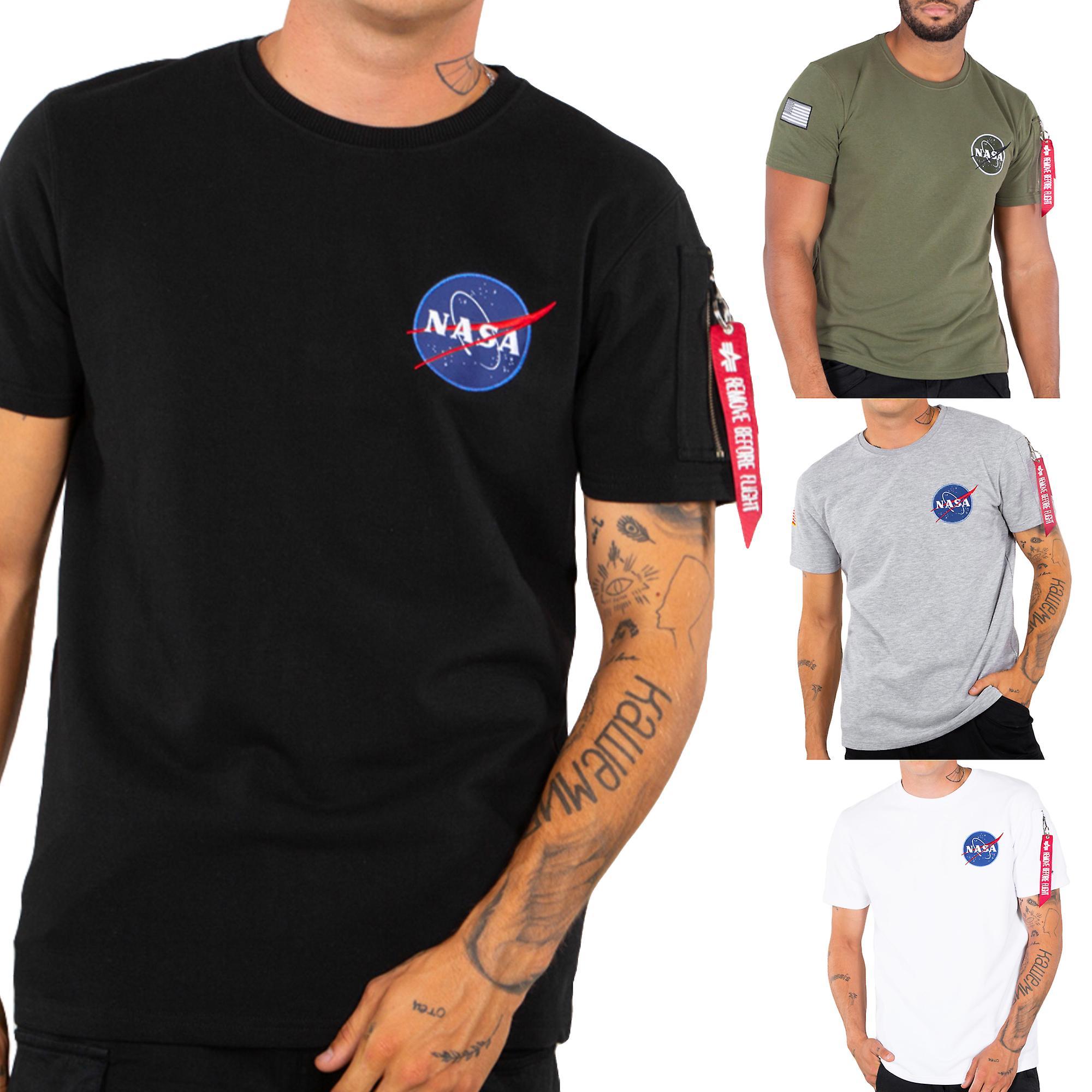 cienie różnie konkretna oferta Alpha industries men's T-Shirt NASA heavy