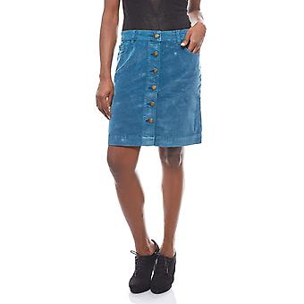 B.C.. best connections soft corduroy mini skirt blue