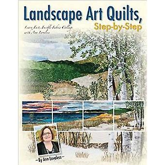 Landscape Art Quilts - Step-by-Step - Learn Fast - Fusible Fabric Coll