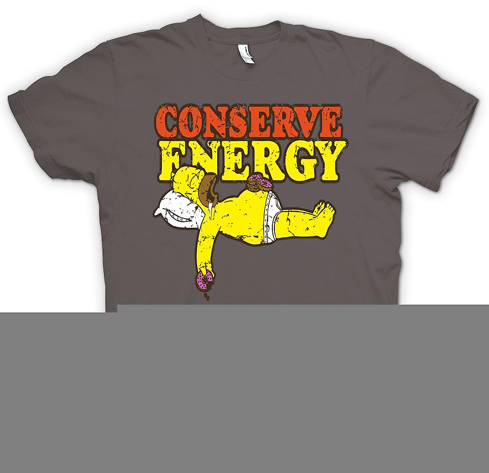 Womens T-shirt - Homer - Conserve Energy