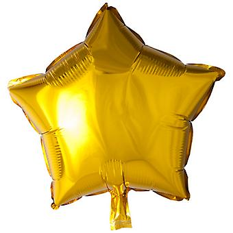 "Folieballong Star Gold-46 cm (18 "")"