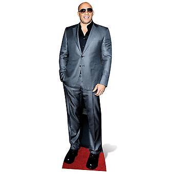 Vin Diesel Lifesize Pappausschnitt / Standee