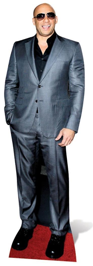 Vin Diesel grandeur nature en carton Découpe / Standee
