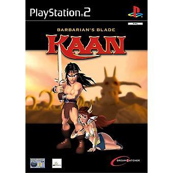 Kaan Barbarians Blade (PS2)
