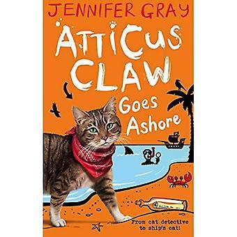 Atticus Claw vai à praia (Atticus Claw: detetive de gato maior do mundo)