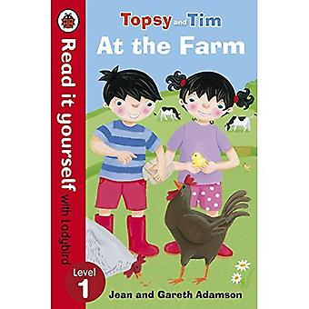 Topsy and Tim: At the Farm - Read it yourself with Ladybird: Level 1 (Read It Yourself Level 1)