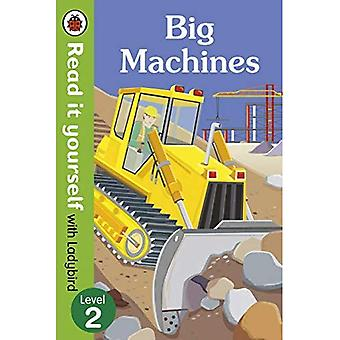 Big Machines - Read it yourself with Ladybird: Level 2 (non-fiction) (Read It Yourself Level 1)
