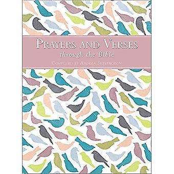 Oraciones y versos a través de la Biblia