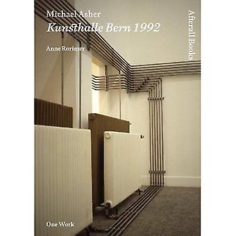 Michael Asher: Kunsthalle Bern 1992 (Afterall)