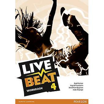 Live Beat 4 cartella di lavoro (2nd Revised edition) di Rod Fricker - 978144795