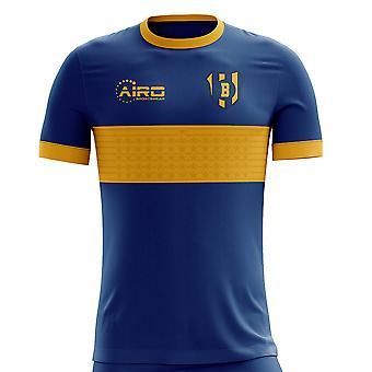 2019-2020 Бока Хуниорс Главная концепция футболка