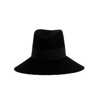 Saint Laurent Black Cotton Hat