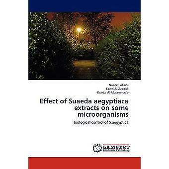 Effect of Suaeda aegyptiaca extracts on some microorganisms by AlAni & Nabeel