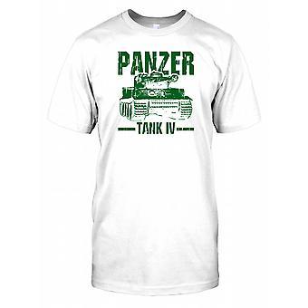 Panzer Tank IV - World War II Kids T Shirt