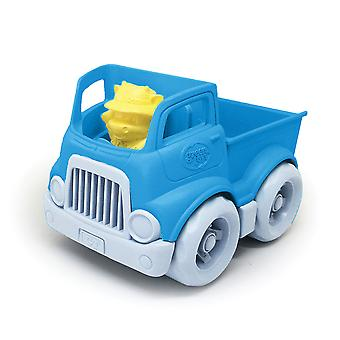 Green Toys Mini Pick-Up Truck with Figure 100% Recycled BPA Free