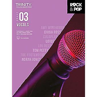 Trinity Rock & Pop 2018 Vocals Grade 3 - 9780857366689 Book
