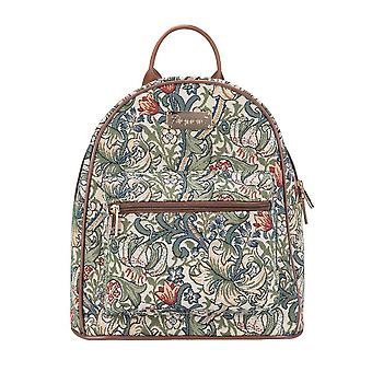 William morris - golden lily daypack by signare tapestry / dapk-glily