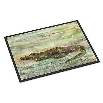 Carolines Treasures  SC2016JMAT Alligator Sunset Indoor or Outdoor Mat 24x36
