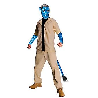 Avatar Jake Sully costume e maschera-taglia extra large