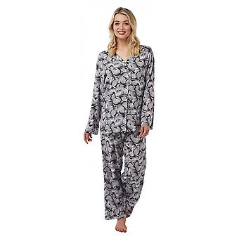 Camille Camille Womens Floral Printed Viscose Pyjama