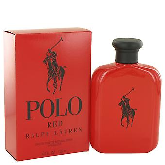 Polo Red by Ralph Lauren Eau De Toilette Spray 4.2 oz / 125 ml (Men)