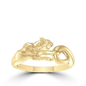 University Of Pittsburgh - Pitt Panther Ring In 14K Yellow Gold