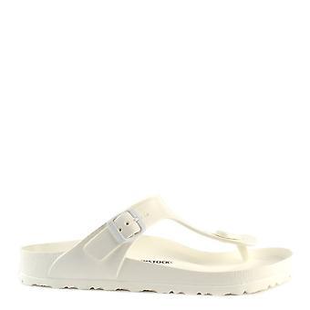 Birkenstock Gizeh White Rubber Thong Sandal