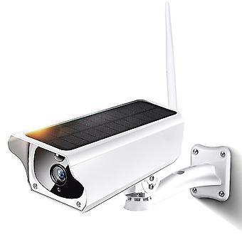 1080p panel solar de energía inalámbrica impermeable pir hd cámara de vigilancia de seguridad cctv