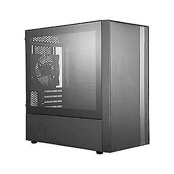 Cooler masterbox nr400 custodia mini torre laterale finestra laterale temperato vetro nero colore nero