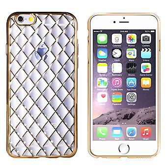 CoolSkin Diamond per Apple iPhone 6/6S Oro trasparente