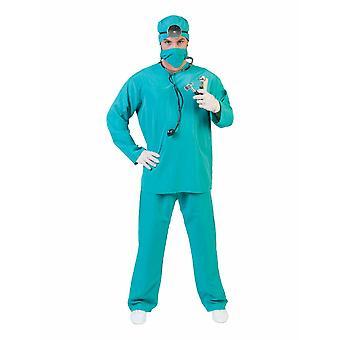 Costume del Chirurgo Men's Costume Infermiera PattoLogo Uomo Costume di