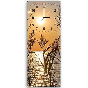 Decorative clock with hanger, Canes sunset