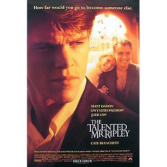 Der talentierte Mr. Ripley (Double Sided Regular) Original Kino Poster